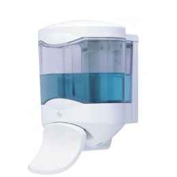 CRYSTAL Distribueur savon palette