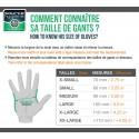 Gant NITRILE non poudré NOIR taille 5 gr 240 mm - Boite de 100 gants